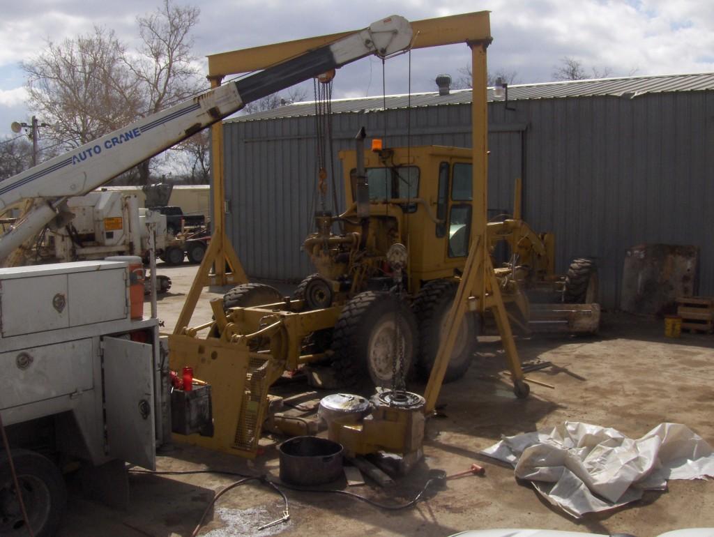 Repairs on scraper