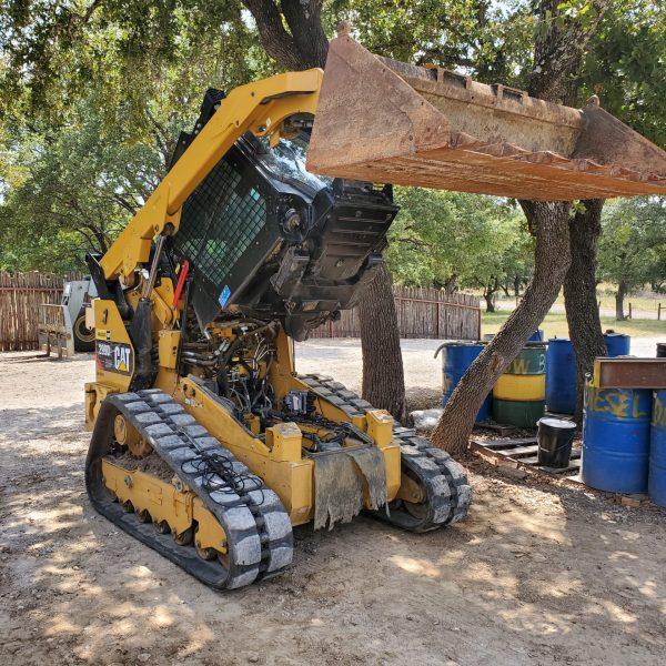 cat 299D skid steer tracks and hydraulic repair